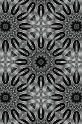 Digital Art - Diamond Cross Art by Sheila Mcdonald