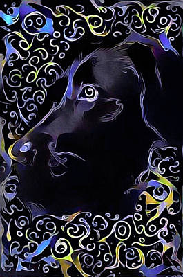 Diamond Dog Art Print