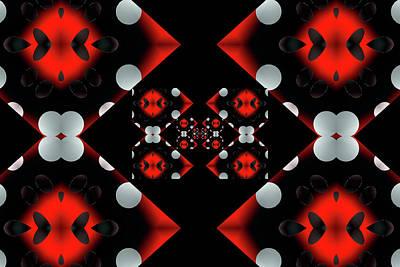 Digital Art - Diamond Dot Trash by Michelle McPhillips