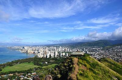 Photograph - Diamond Head by Andrew Dinh