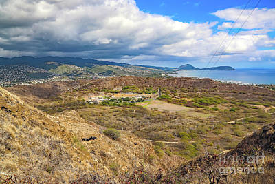 Photograph - Diamond Head Crater by Jon Burch Photography