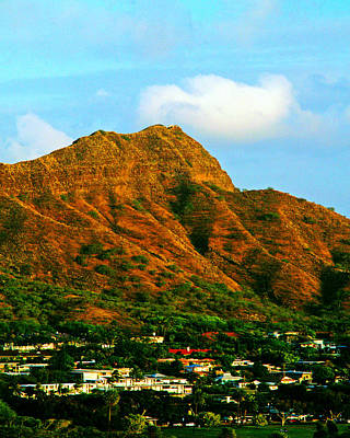 Photograph - Diamond Head by Gary Brandes