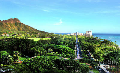Photograph - Diamond Head by Kristine Merc
