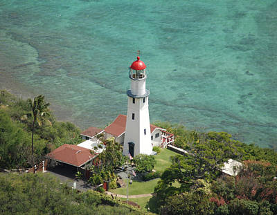 Diamond Head Lighthouse 2 Art Print