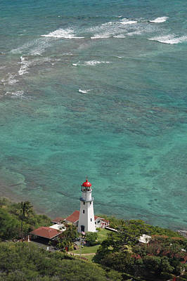 Diamond Head Lighthouse 3 Art Print