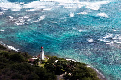 Photograph - Diamond Head Lighthouse by Steven Sparks