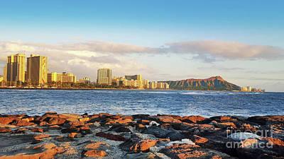 Photograph - Diamond Head, Waikiki by Kristine Merc