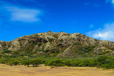 Photograph - Diamond Head Wall by Michael Scott