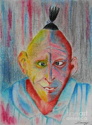Diamond In The Rough -- Whimsical Portrait Of Developmentally Disabled Man Original