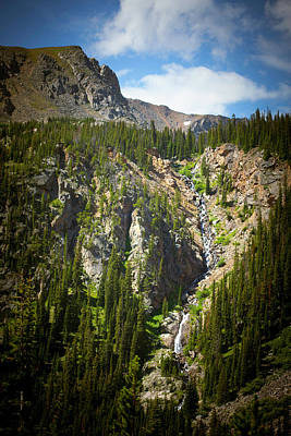 Photograph - Diamond Lake Trail Waterfall by Marilyn Hunt
