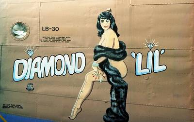 Photograph - Diamond 'lil' 1990 by John Schneider