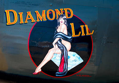 Photograph - Diamond Lil by Rospotte Photography
