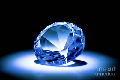 Photograph - Diamond by Mats Silvan