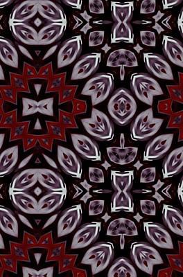 Digital Art - Diamond Mirror Art by Sheila Mcdonald