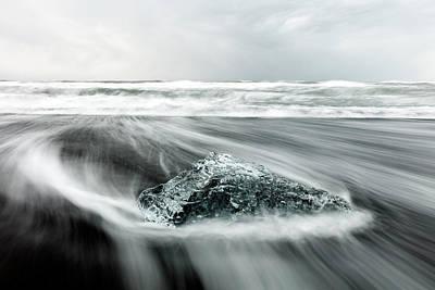 Photograph - Diamond On The Beach by Robbie George