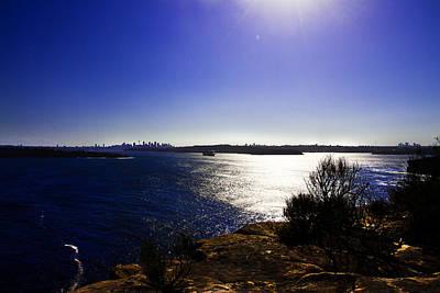Photograph - Diamond Princess Bathed In Afternoon Sun Leaving Sydney by Miroslava Jurcik