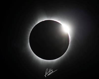 Photograph - Diamond Ring Signature Edition by John King