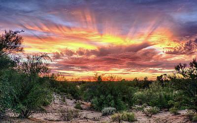 Photograph - Diamond Sky by Charlie Alolkoy