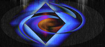 Digital Art - Diamond Soul by Linda Sannuti