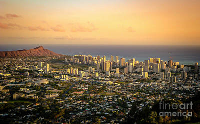 Photograph - Diamondhead -- Jewel Of Oahu by TK Goforth
