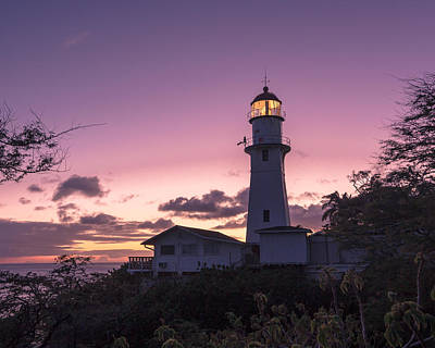 Diamondhead Lighthouse Art Print