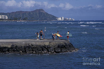 Photograph - Diamondhead by Stan and Anne Foster
