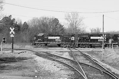 Photograph - Diamonds Are A Rail Fans Best Friend by Joseph C Hinson Photography