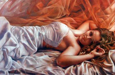 Diana Print by Arthur Braginsky
