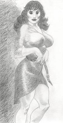 Diana Print by Maurice Dantes