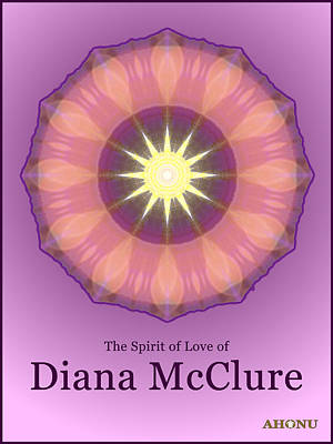 Digital Art - Diana Mcclure by Ahonu