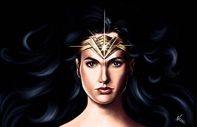 Digital Art - Diana by Norman Klein