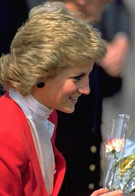 Red Travelpics Photograph - Diana Princess Of Wales by Travel Pics
