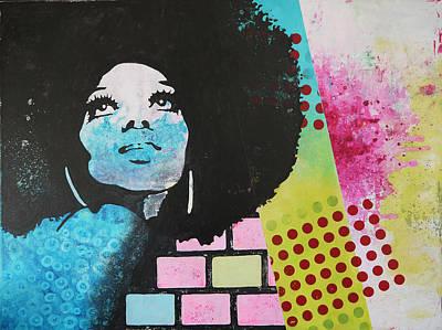 Diana Ross Painting - Diana Ross by Bitten Kari