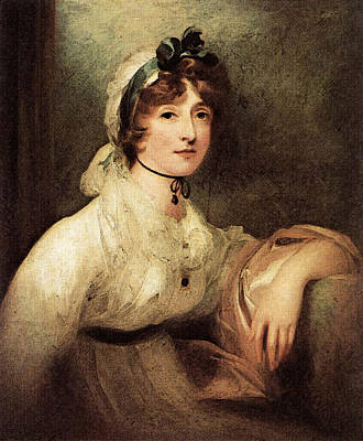 Digital Art - Diana Sturt Lady Milner  by Sir Thomas Lawrence