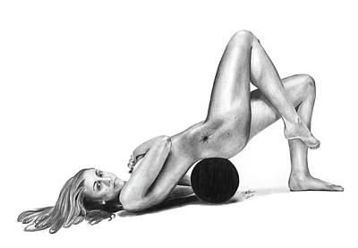 Drawing - Diana Taurasi Body by Devin Millington