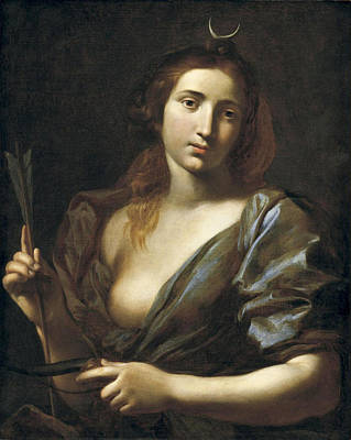 Painting - Diana by Vincenzo Dandini