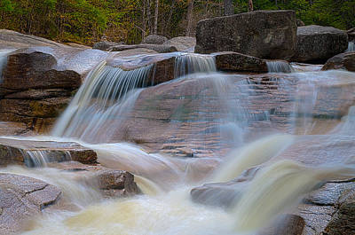 Photograph - Diana's Baths Waterfalls by Brenda Jacobs