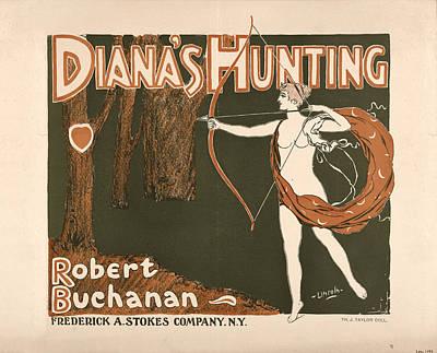 Digital Art - Diana's Hunting by Phat Artz