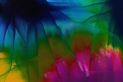 Abstract Art Painting - Diaphanous by  D A Diggs