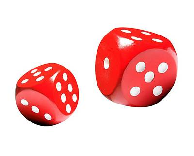 Common Item Photograph - Dice, Artwork by Victor De Schwanberg