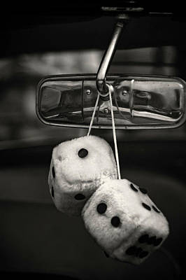 Photograph - Dice In The Window by Kathleen Messmer