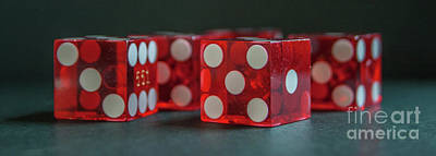 Photograph - Dice by Tony Baca