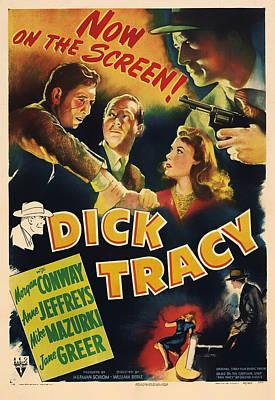 1940s Mixed Media - Dick Tracy 1945 by Mountain Dreams