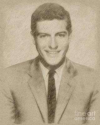 Fantasy Drawings - Dick Van Dyke, Actor by Frank Falcon