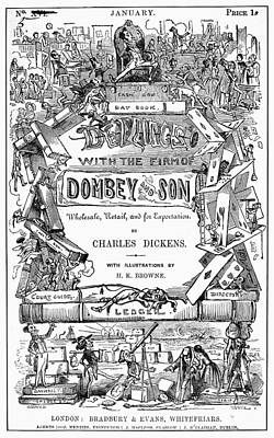 Novel Photograph - Dickens: Dombey And Son by Granger