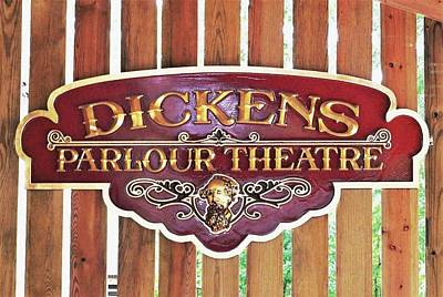 Photograph - Dickens Parlour Theatre by Kim Bemis