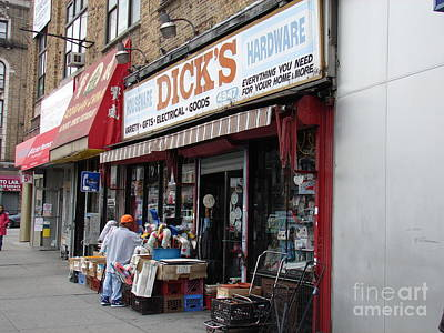 Photograph - Dick's Hardware  by Cole Thompson