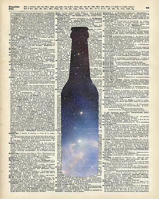 Dictionary Art - Magic Beer Art Print by Jacob Kuch