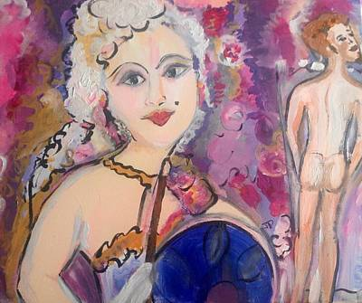 Painting - Did She Didn't She  by Judith Desrosiers