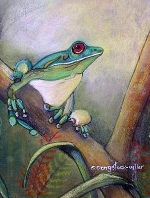 Did You Call Art Print by Sandra Sengstock-Miller